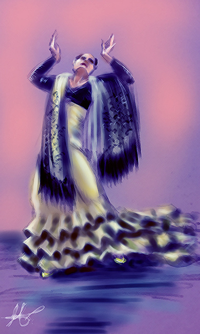 Flamenco dancer-1