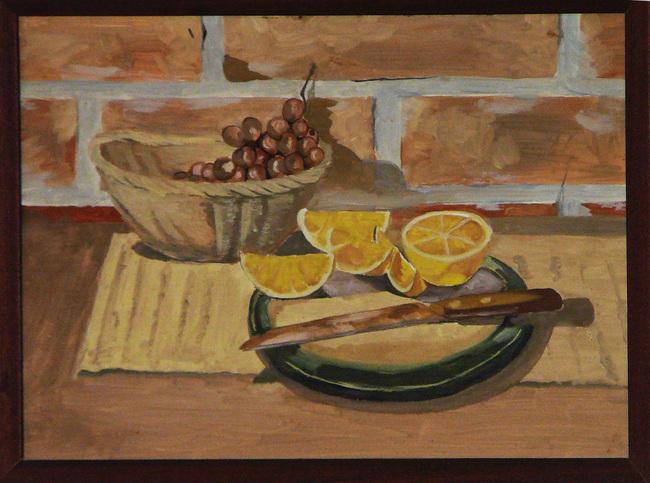 Grapes and lemons