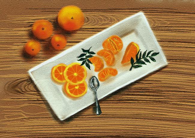 Oranges and  nectarines