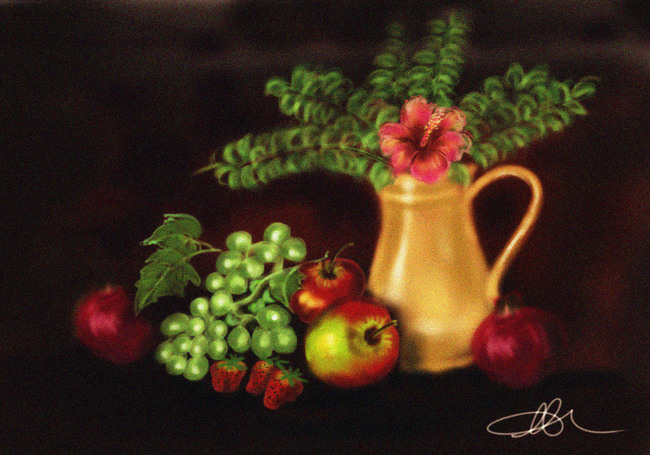 Fruits and flowers-3