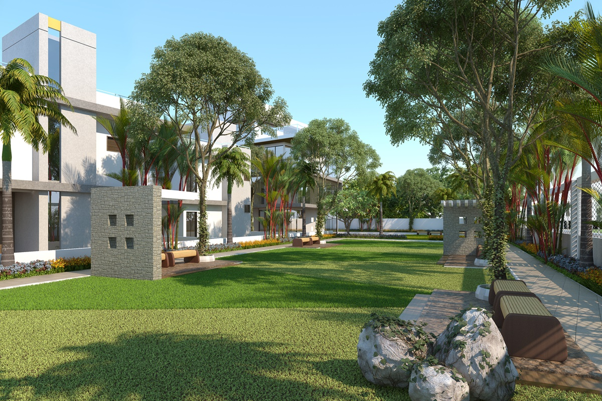 3d residential house garden view design kcl solutions for 3d home design with garden