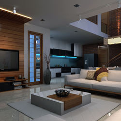 3d Interior Design Of Home Living Room For