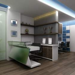 Interior Design Rendering For Commercial Office