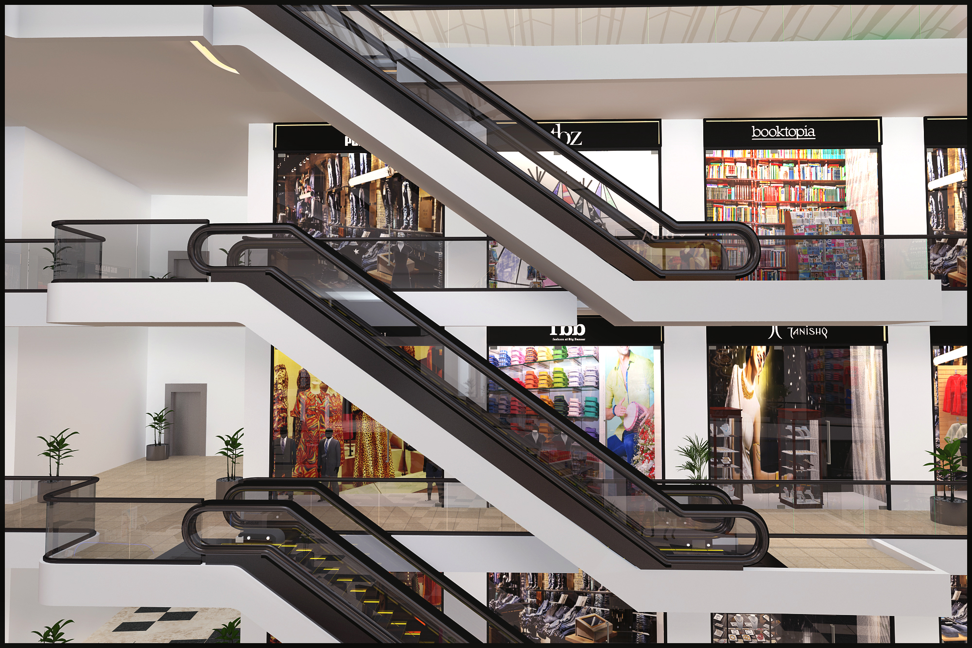 3d Store Interior Design