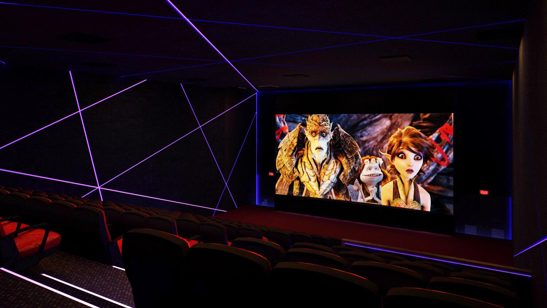 3d Theater Interior Design