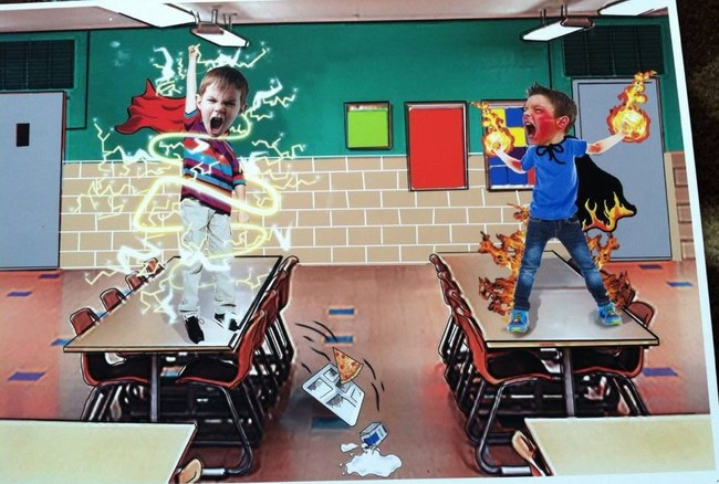 lunch room battle