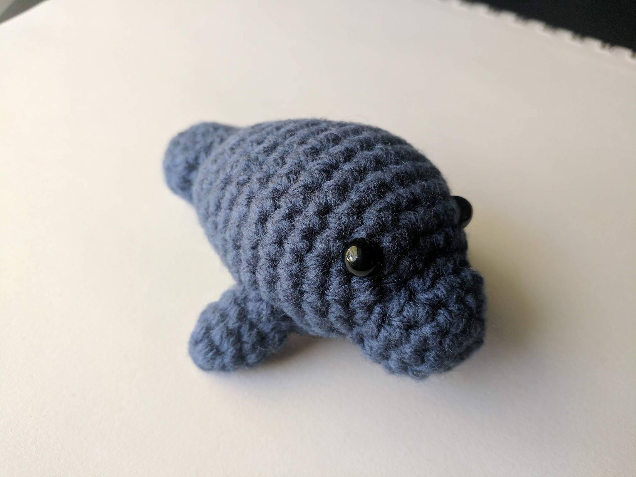 Fine Crochet Manatee Pattern Vignette - Sewing Pattern Dress Ideas ...