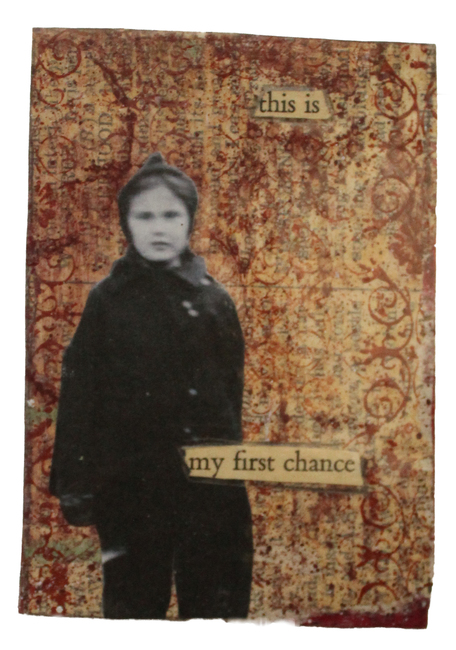 """""""This is My First Time"""" Original Art ACT ACEO"""