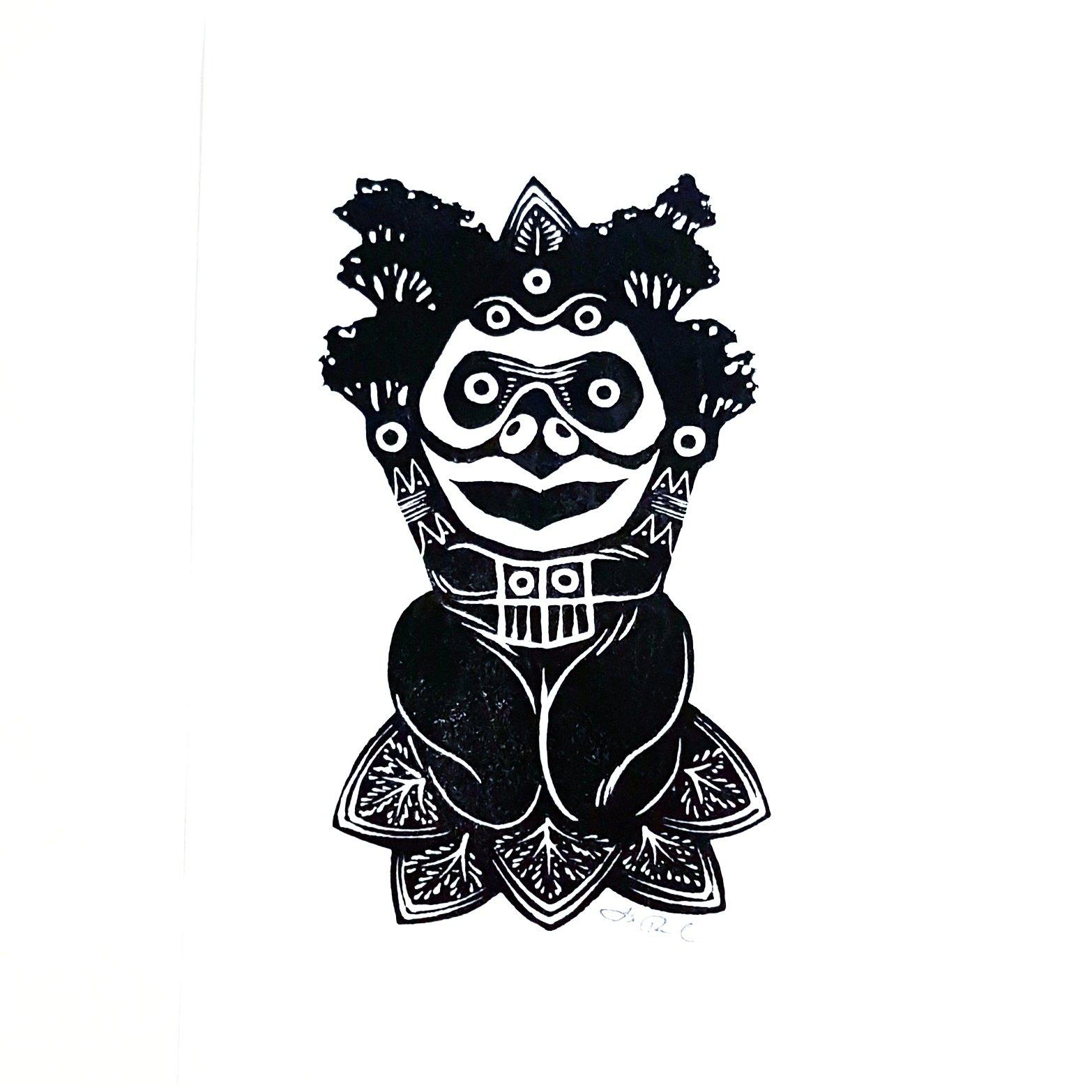 Taino Art From Puerto Rico Native Caribbean People