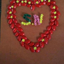 Heart with quilling