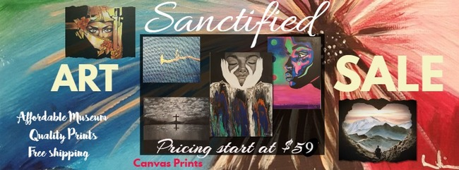 Sanctified Art Holiday Sale