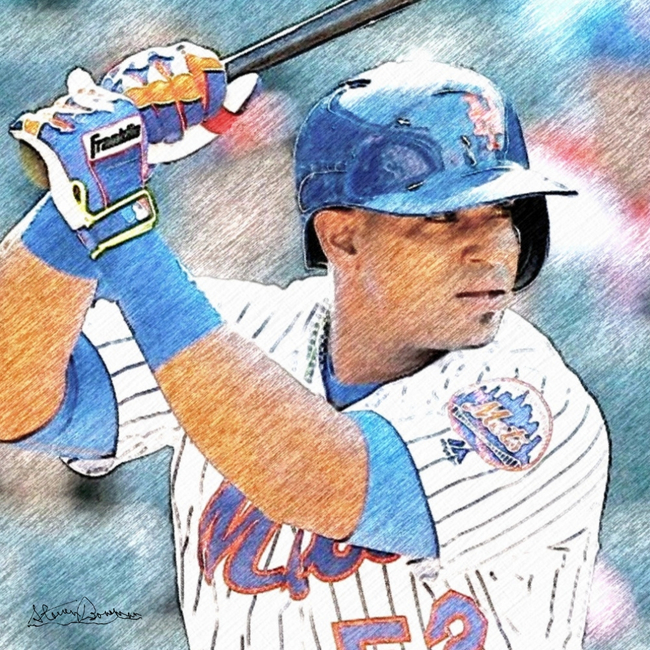 Yoenis Céspedes: A Pencil Sketch