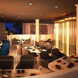 3D Concept Render for Restaurant New York