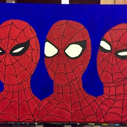 The Three Faces of Spiderman