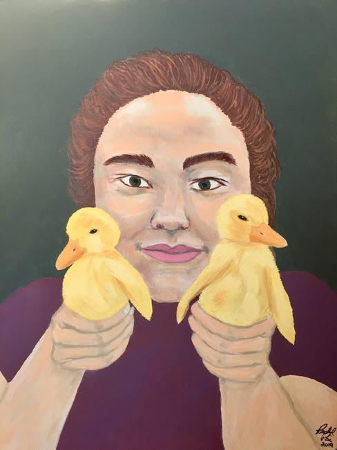 Suzee's Ducklings/SOLD