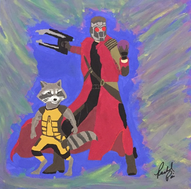 Star-Lord and Rocket