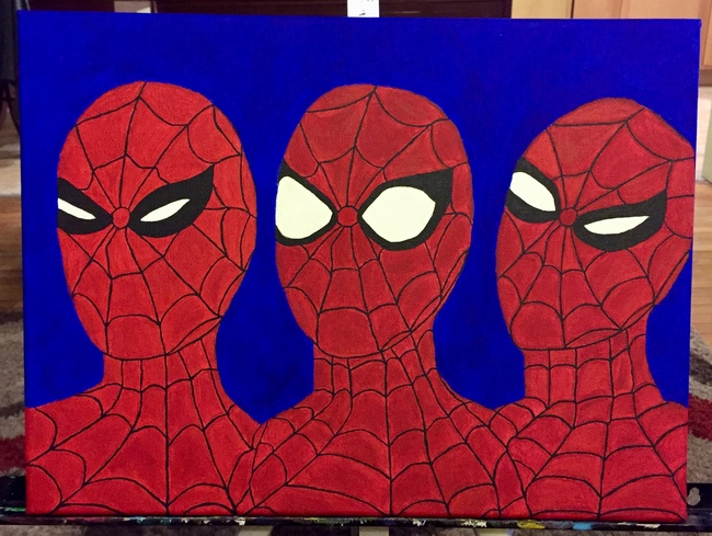 The Three Faces of Spiderman/SOLD