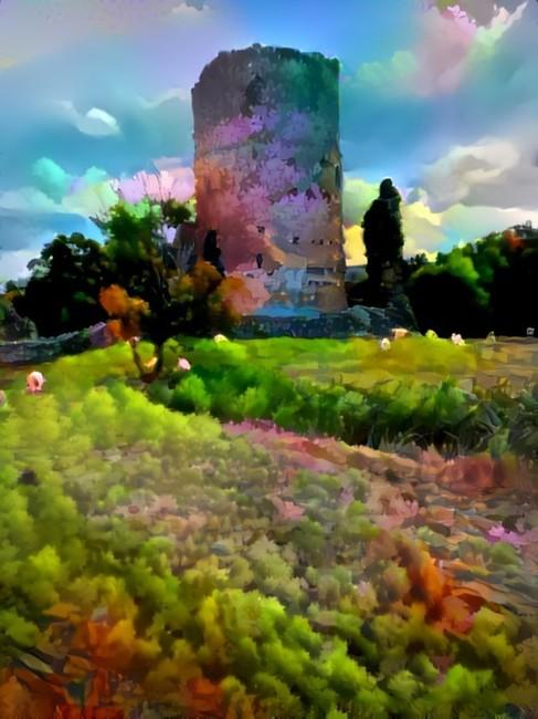Tretower Castle a window in time