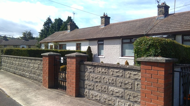 85 year old Cottage Old Court Cottages tallaght Dublin Irela