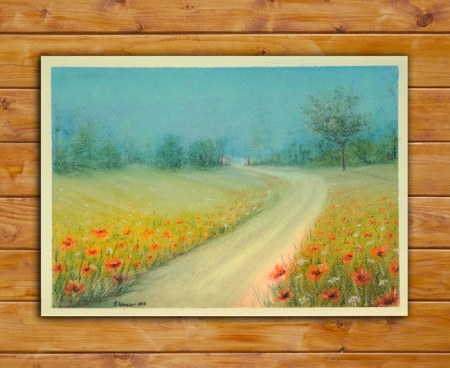Pastel Paintings and Drawings