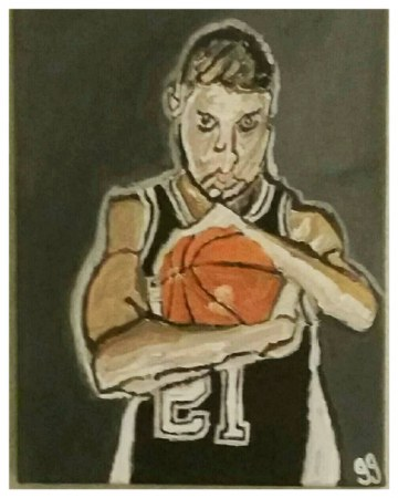 Tim Duncan Canvas
