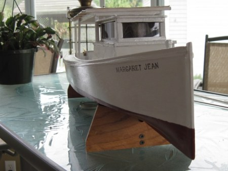 Model work boat Margaret Jean (SOLD)