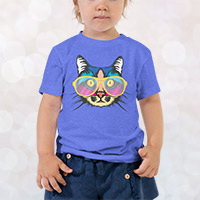 Custom design child tee shirt