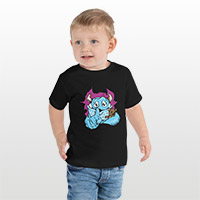 Put your image on a toddler t-shirt