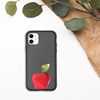 Biodegradable iPhone cases with your images