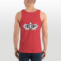 Custom men's tank top design